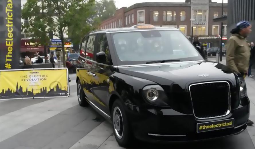 Il taxi elettrico di LEVC