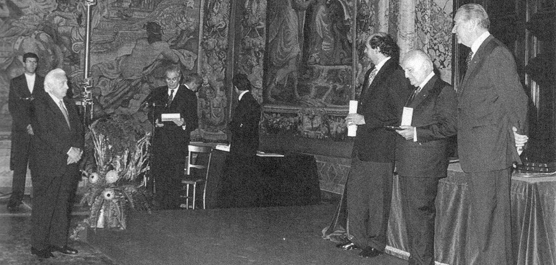CLN Group | 1996 - Mario Magnetto Cavaliere del lavoro