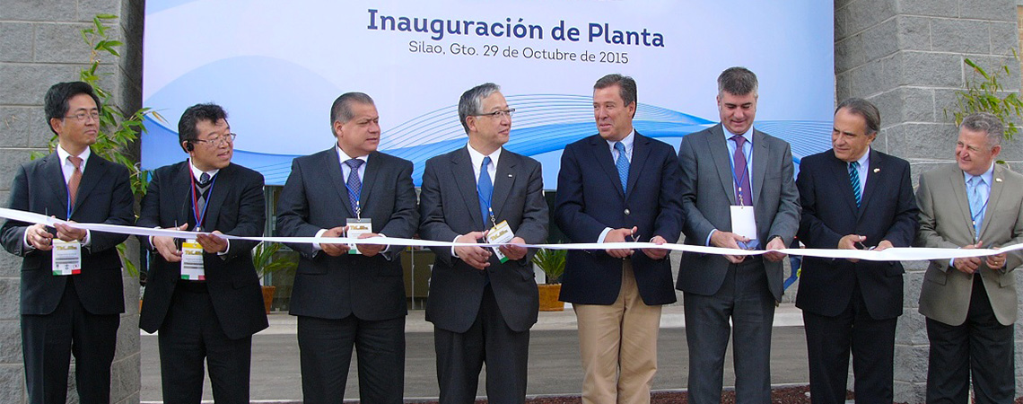 CLN Group | 2015 - The new Mexican plant