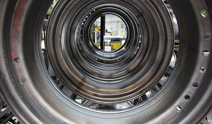 Wheel production at Kingisepp plant