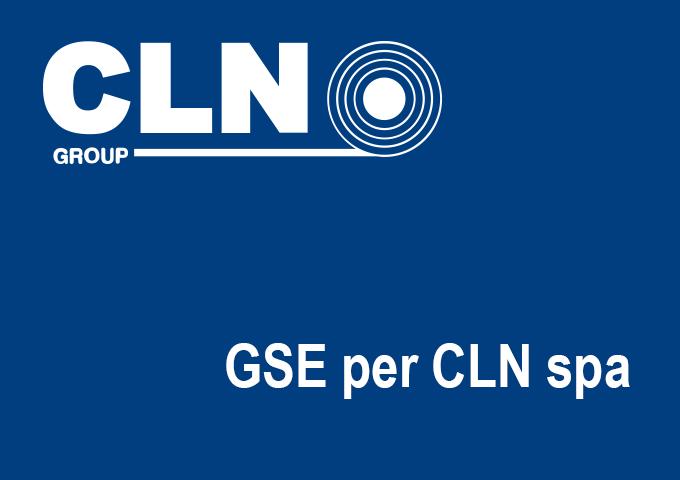 GSE per CLN spa