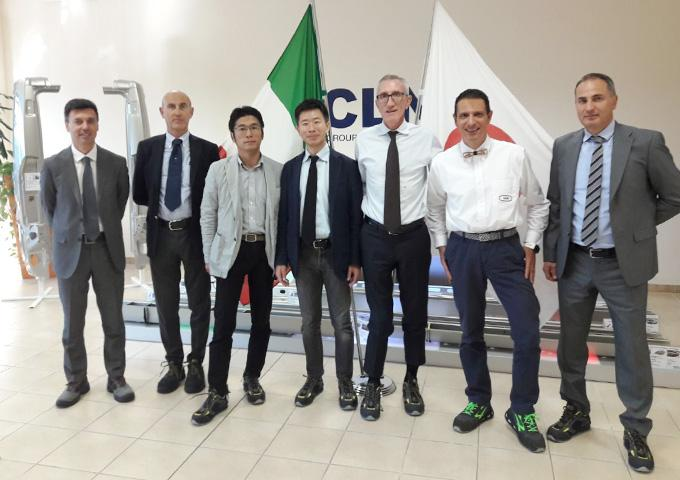 Toyota R&D visit MA plant in Atessa