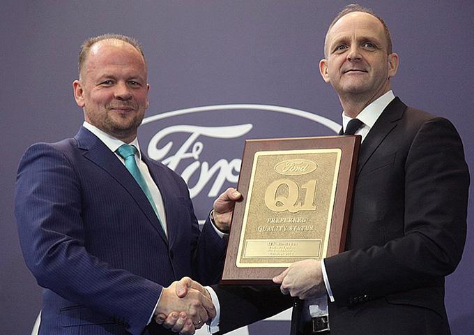 Ford Q1 preferred quality status conferred on MW Kingisepp